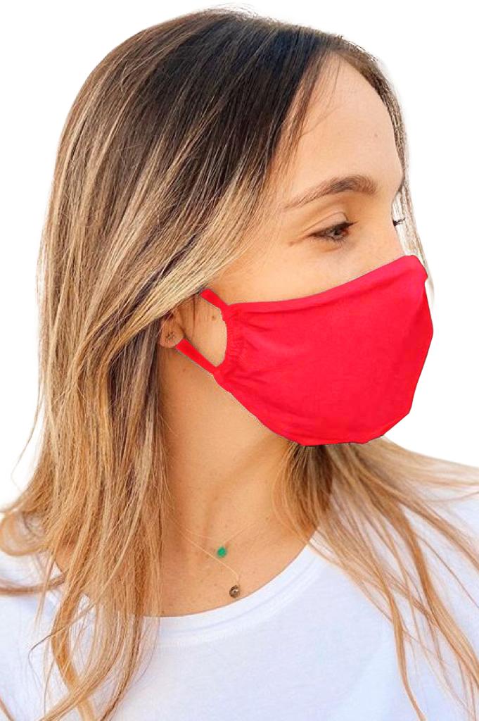 Trendy Mondmasker Rood-Uniek-Rood