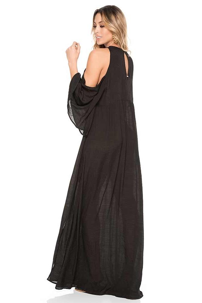 Phax Turqoise Bay Dress Black