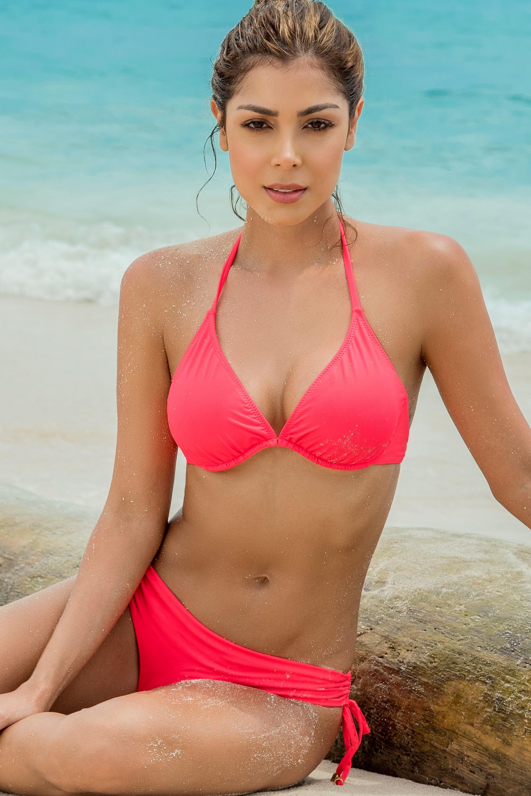 Phax Roze Beugel Bikini met Cheeky Bikini Broekje