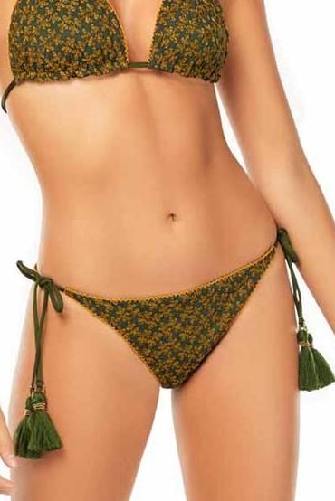 Cosita Linda Haere Mai Tie Side Bikini Bottom