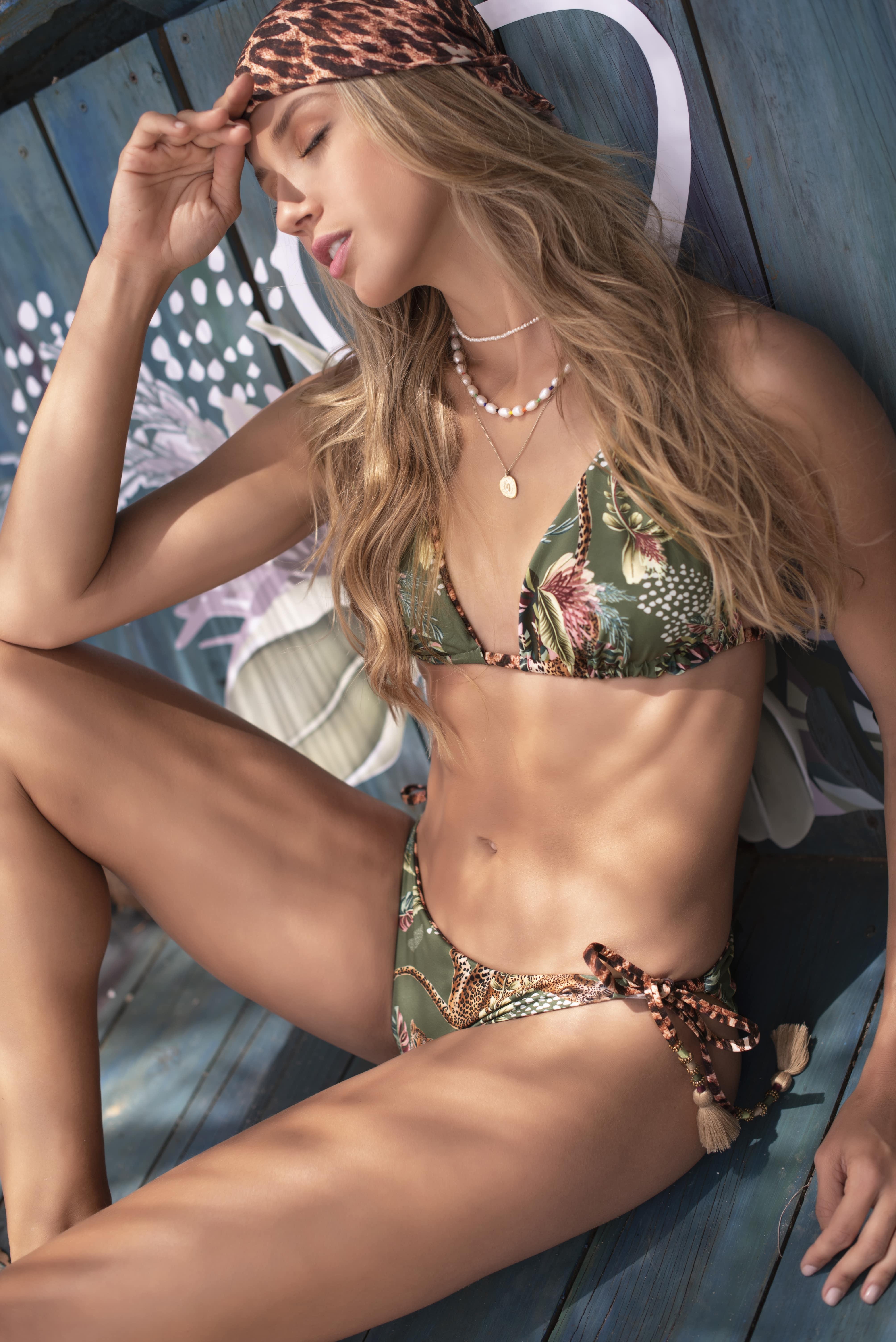 Milonga Selva Reversible Triangle Bikini