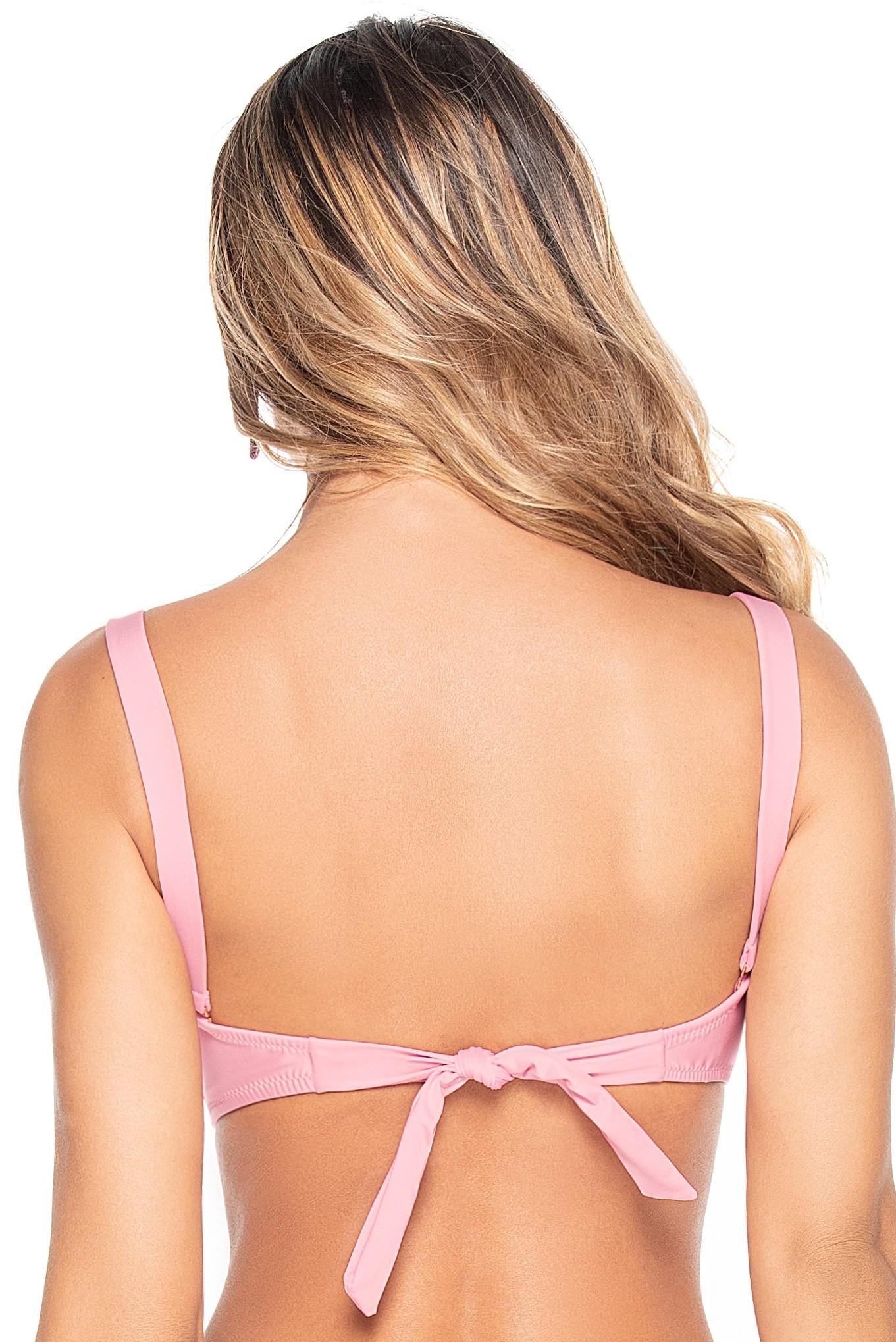 Phax Light Pink Strapless Wire Bikini Top