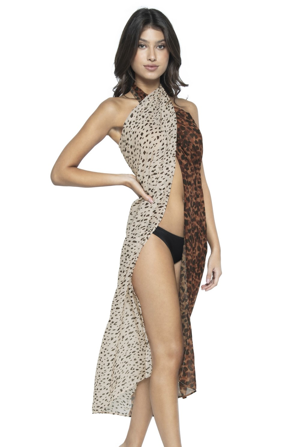 Pilyq Swim Wild Heart Pareo Dierenprint