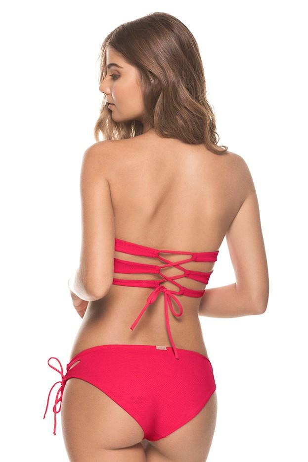 Kiby's Connilera Beugel Bikini Rood