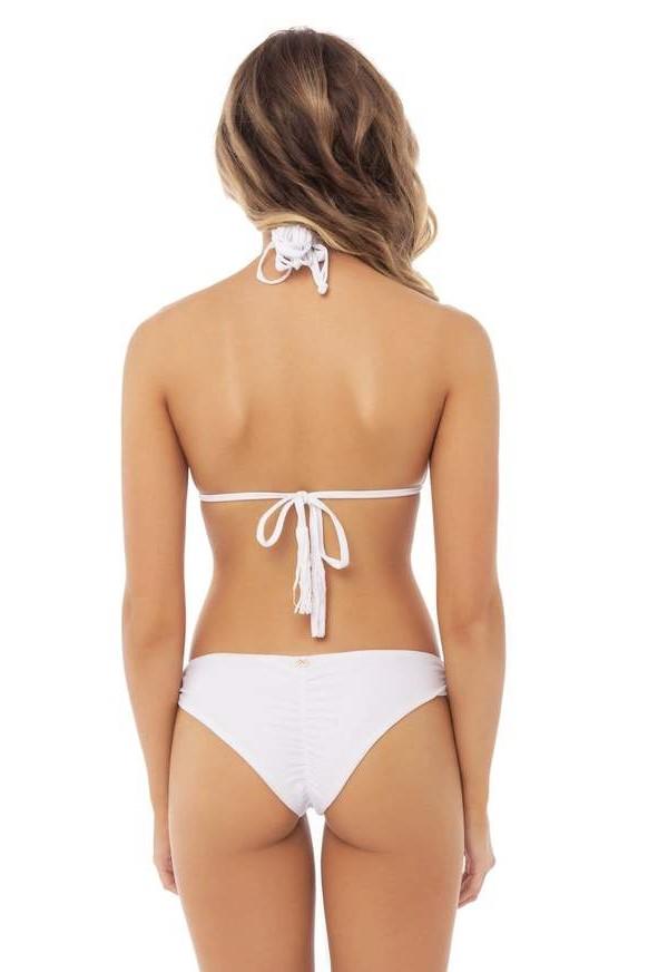 Pilyq Swim Water Lily Isla Triangel Bikini Wit