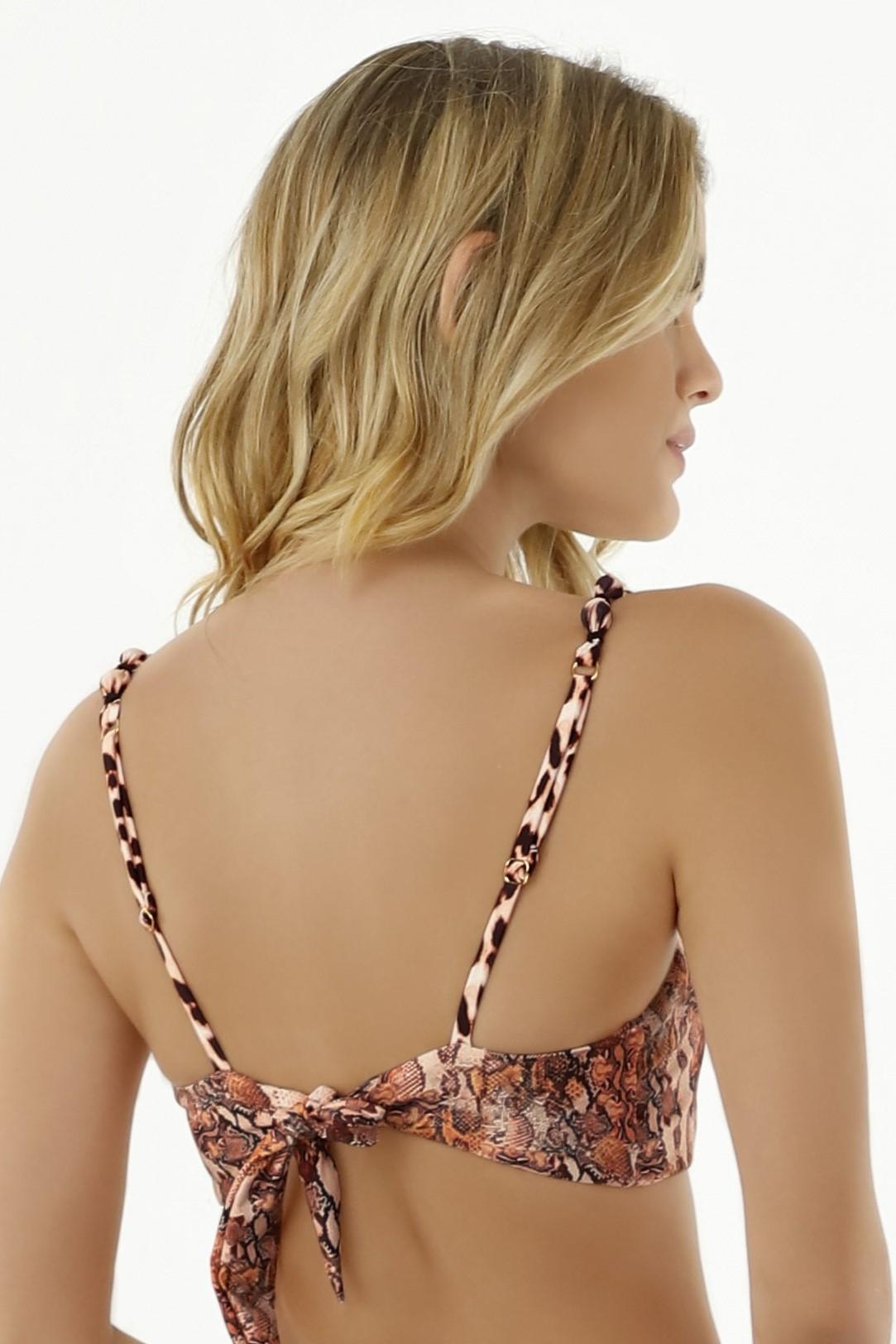 Milonga Guepardo Fashion Bikini Top