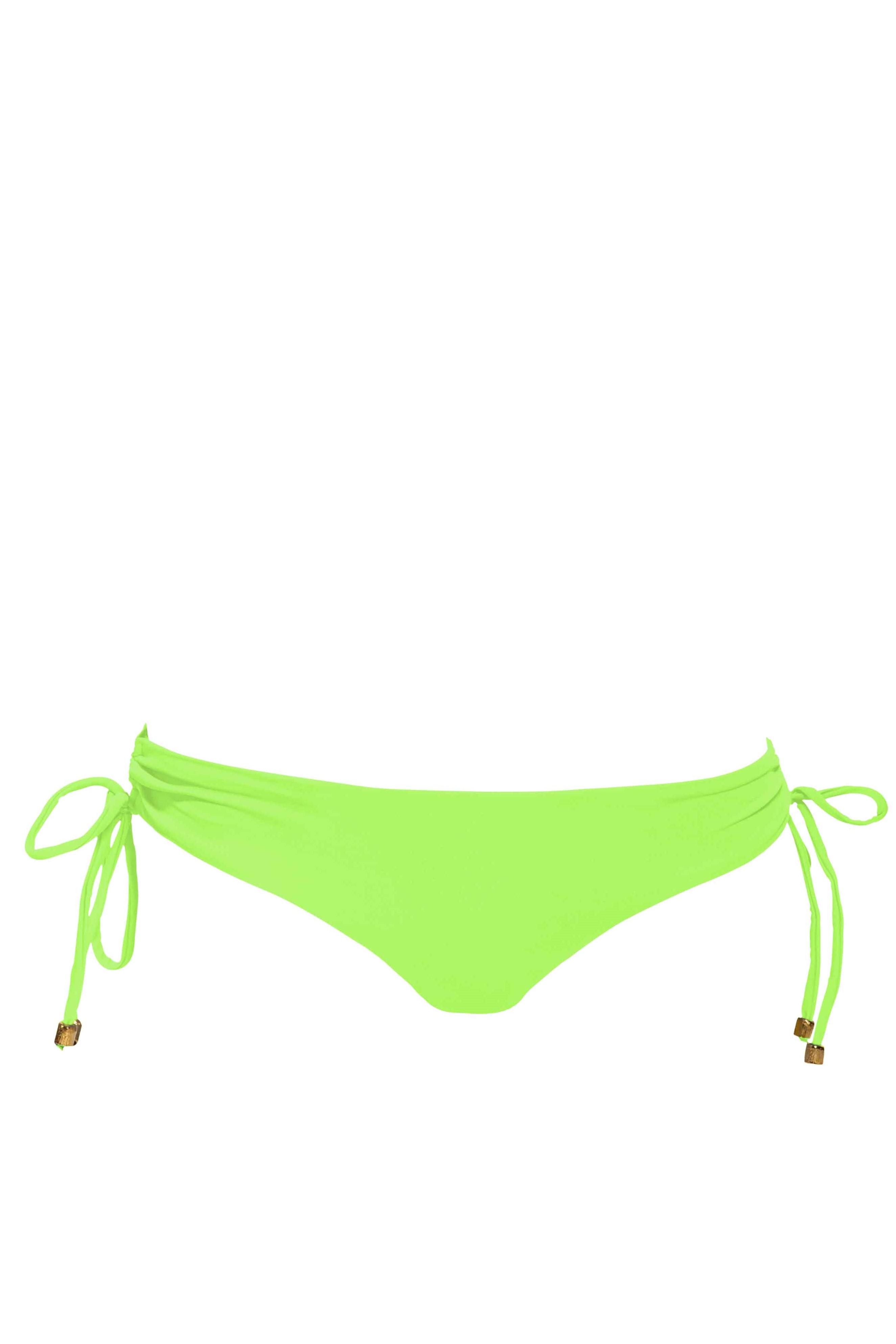 Phax Color Mix Cheeky Bikini Bas Vert Fluo