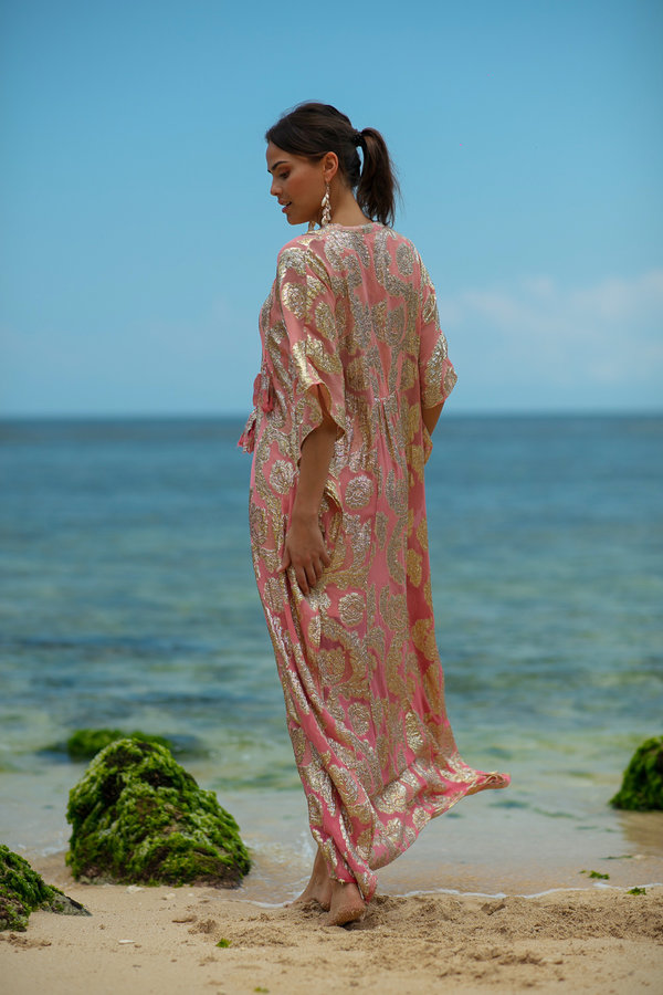 Miss June Long Dress Bodhi-Uniek-Roos