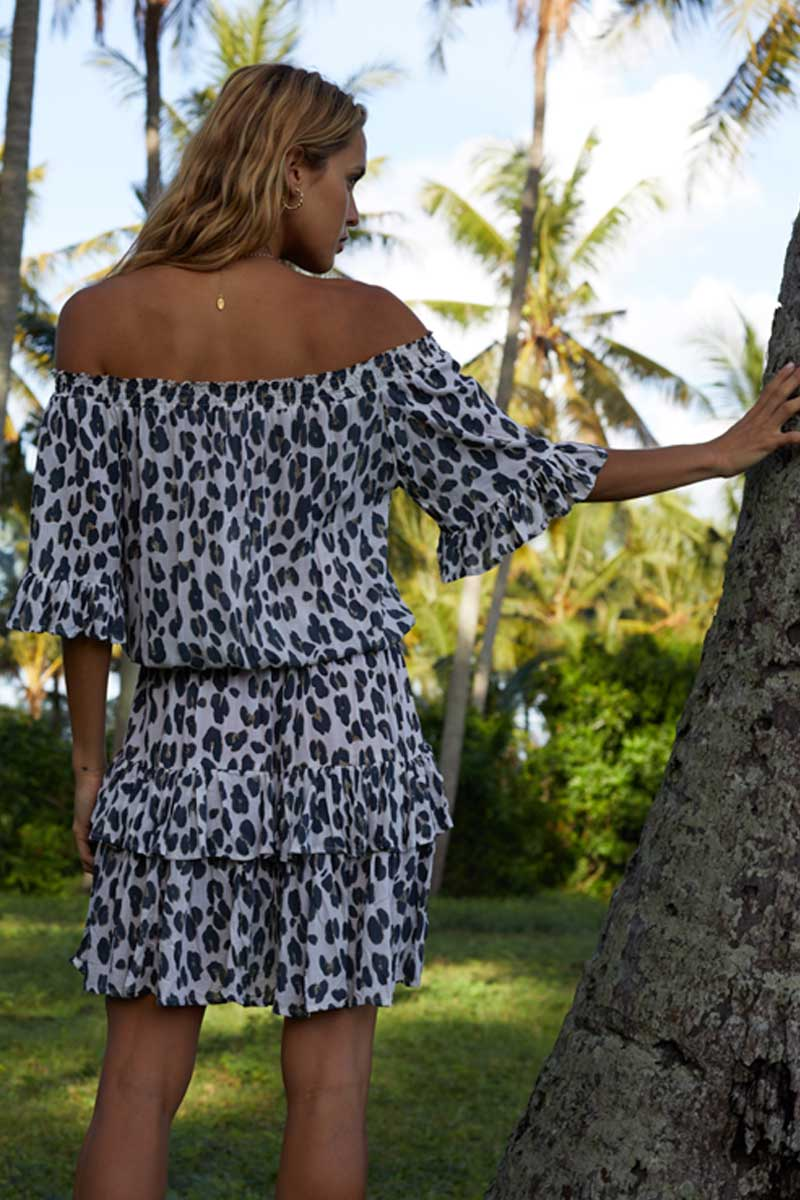Beach Fashion Only Leopard Dress