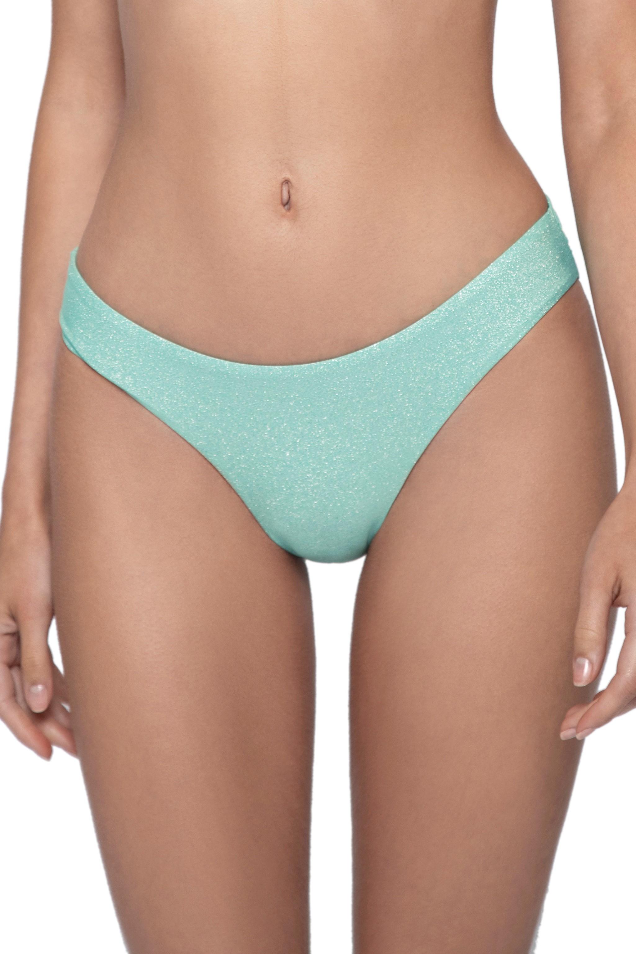 Pilyq Swim Divine Scrunch Bikini Broekje Licht Blauw