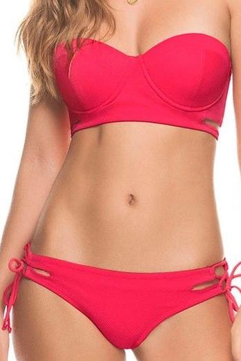 Kiby's Connilera Bikini Broekje Rood