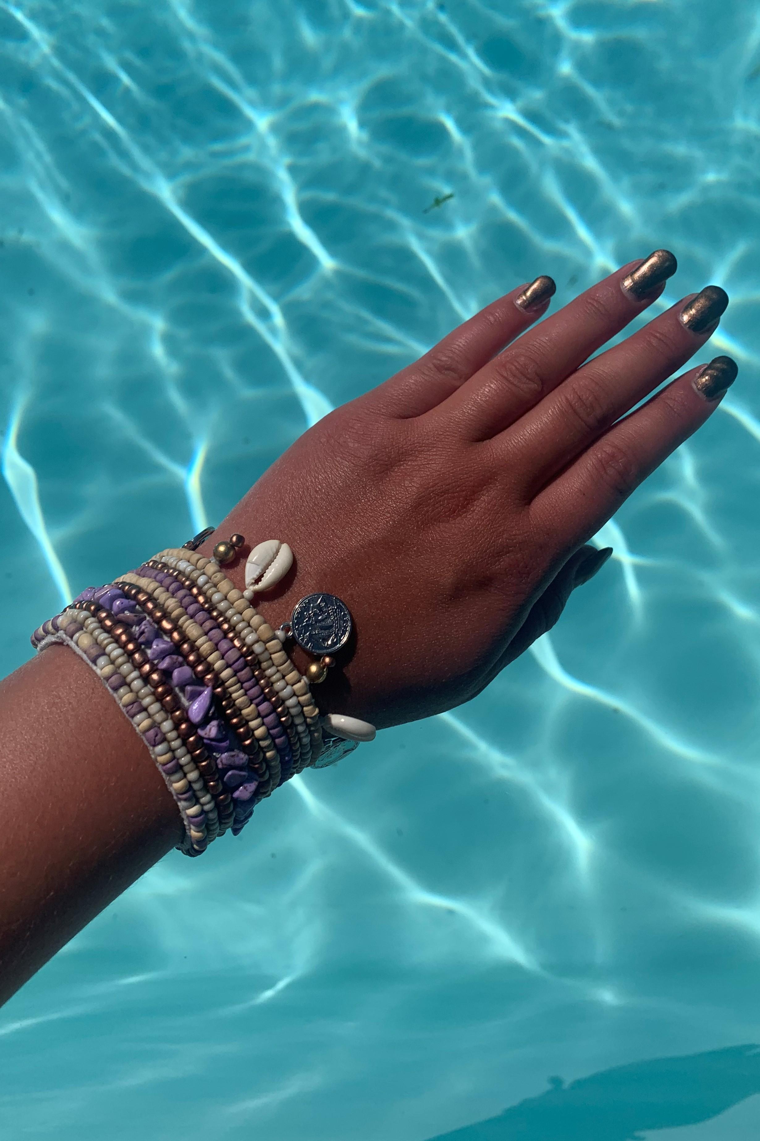 Hot Lava Indy Bracelet Lilac-Uniek-Lila