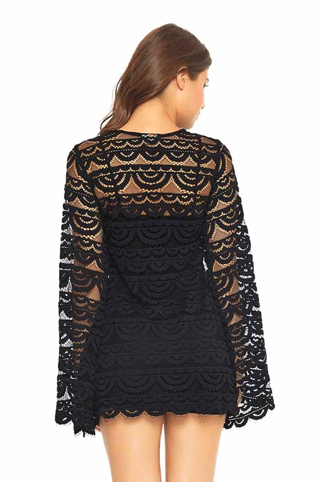 Pilyq Swim Midnight Noah Tunic Black