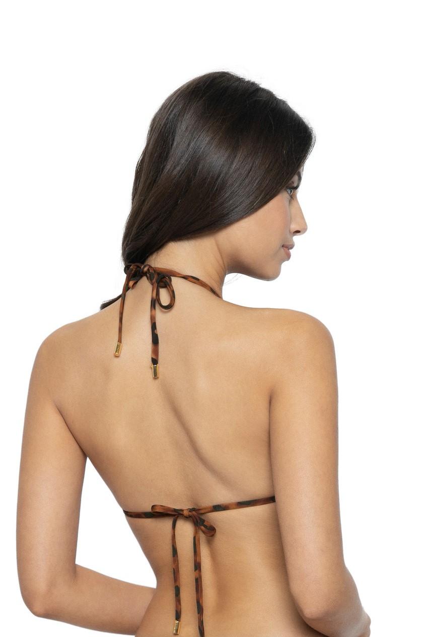 Pilyq Swim Wild Heart Omkeerbare Triangel Bikini Top
