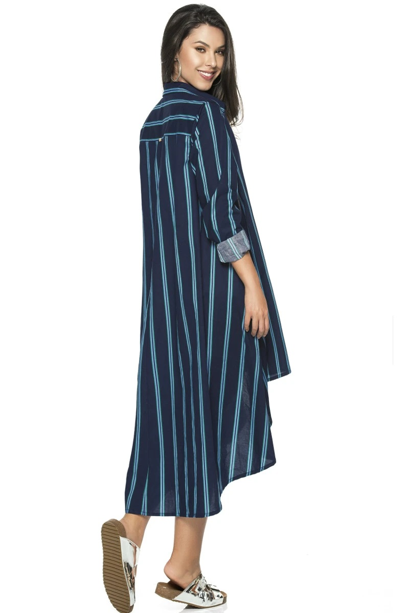 Phax Long Stripy Cardigan